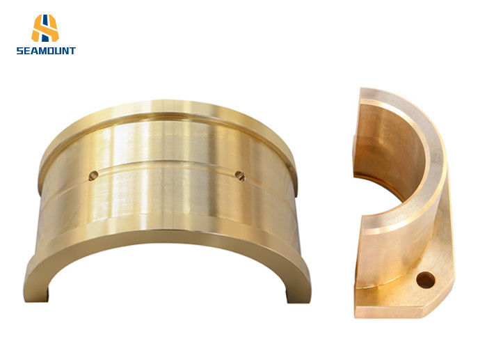 Bronze Semi Circular Bearing Bush Good Heat Conductivity High Performance