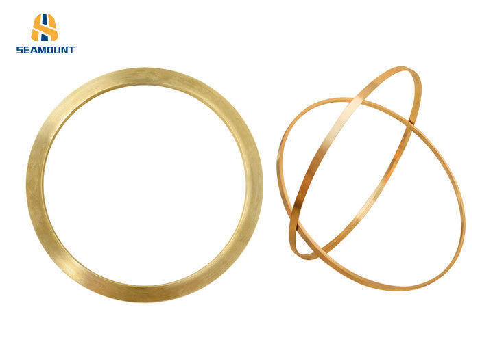 CNC Machinery Copper Seal Ring Customized Processing  For  Ring Injector