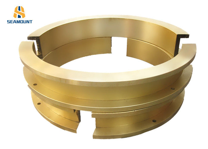 High Precision Bronze Split Bushing Flange Half Bearing With Different Specifications