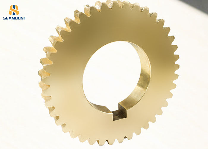 Wear Resistant Copper Worm Gear With Complete Customized Specifications