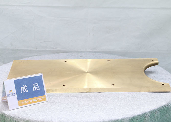 C86300 Cone Crusher Spare Parts Manganese Bronze Wear Plate